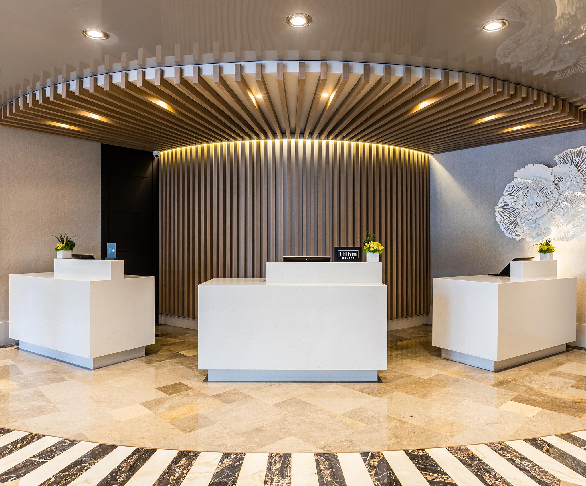 Hilton Bentley Miami South Beach Hotel Lobby 1