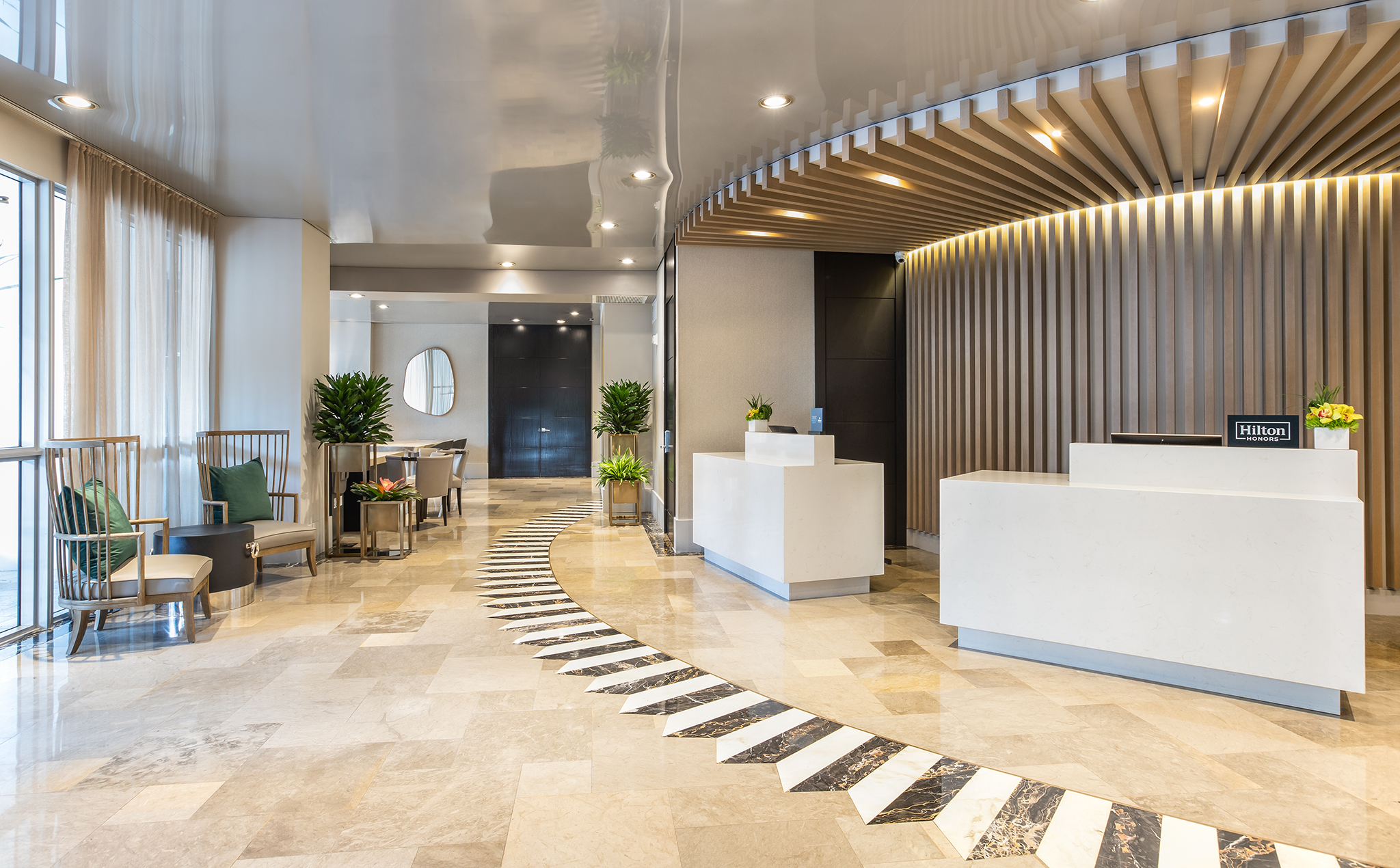 Hilton Bentley Miami South Beach Hotel Lobby 3