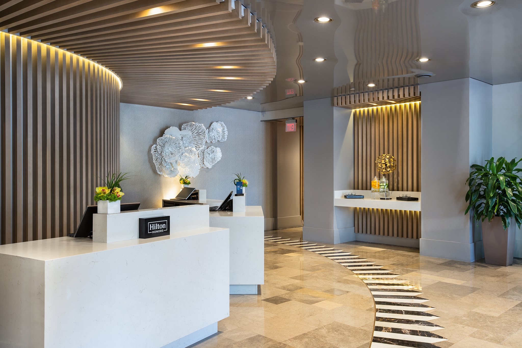 Hilton Bentley Miami South Beach Hotel Lobby 2